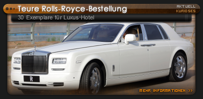 Rolls Royce Bestellung in China